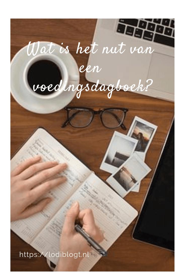 Wat is het nut van een voedingsdagboek?