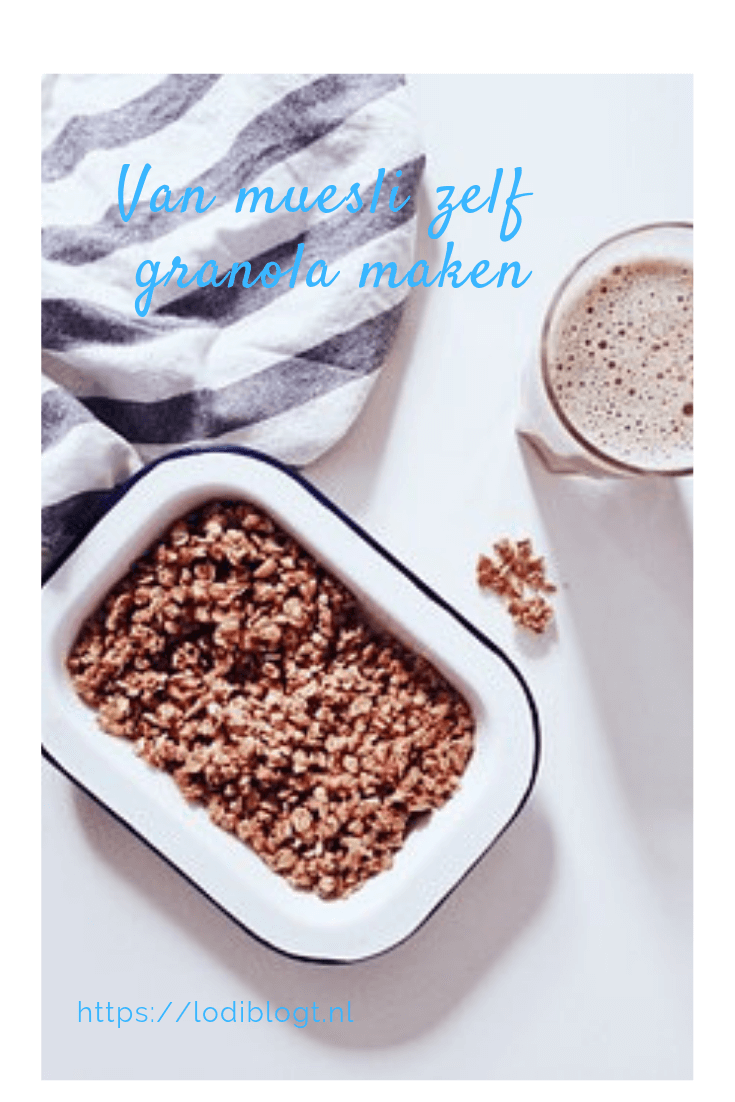 Van muesli zelf granola maken