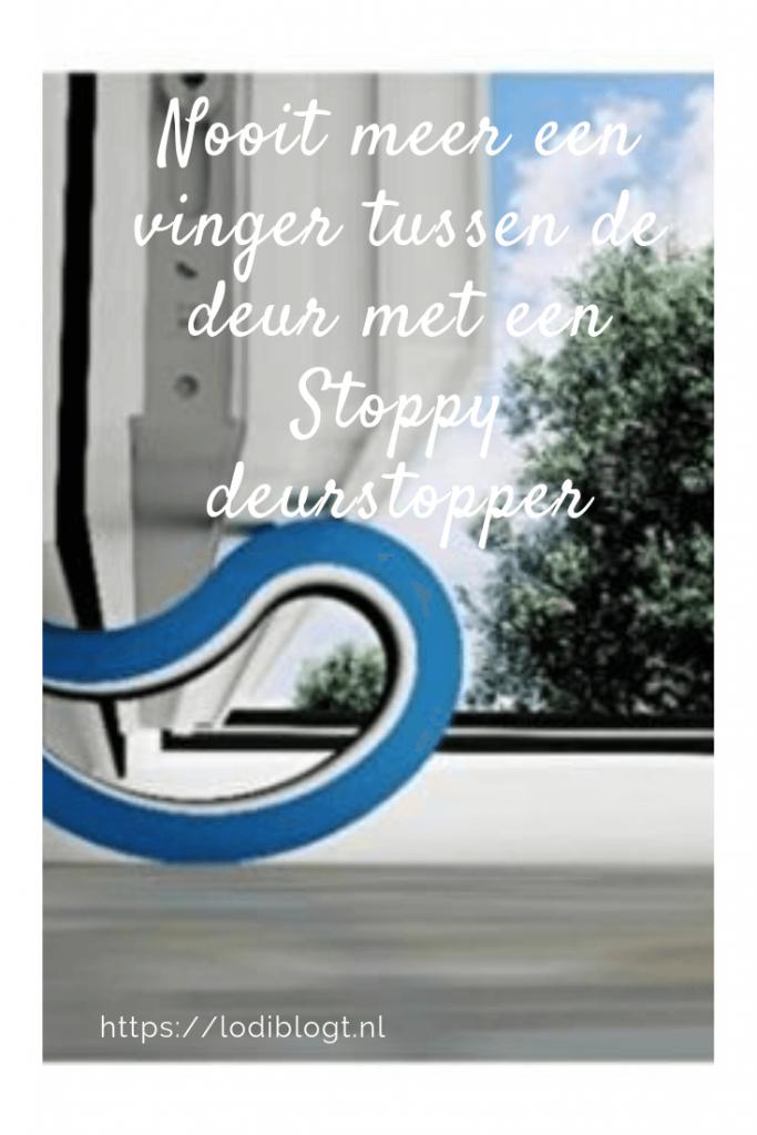 Nooit meer een vinger tussen de deur met een Stoppy deurstopper #tips #ideas
