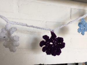 creatief met wol en papier