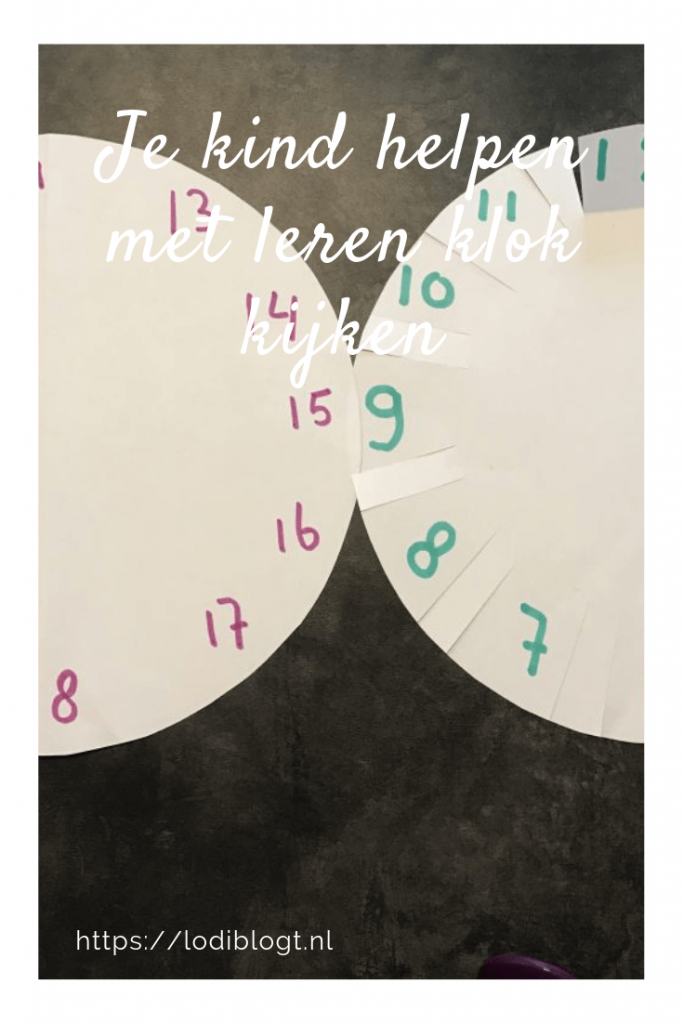 Je kind helpen met leren klok kijken