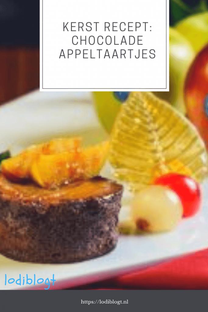 kerst recept chocolade appeltaartjes