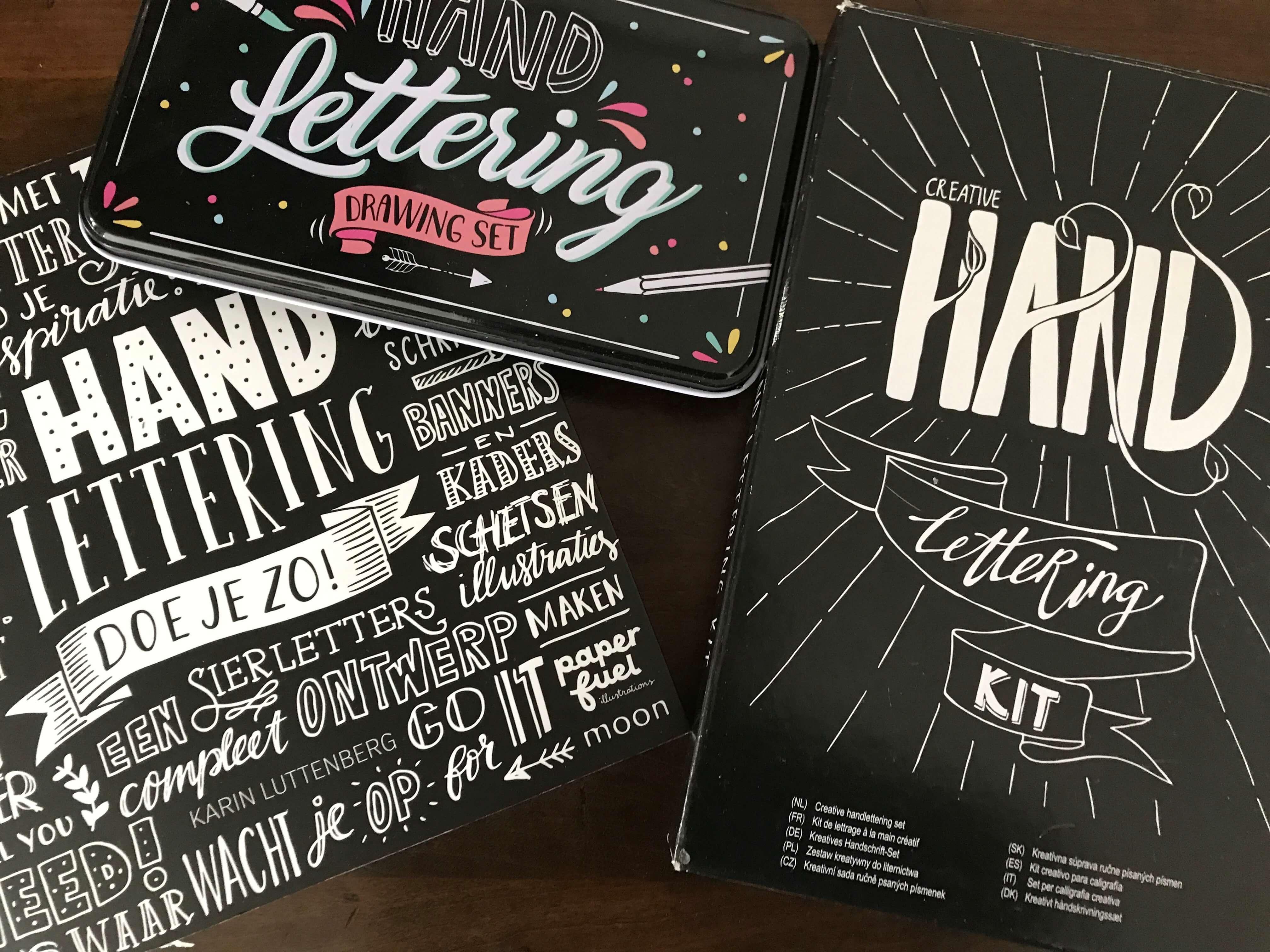 bullet journal hand lettering