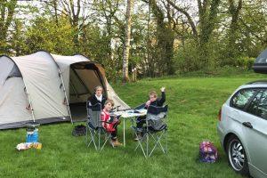 kamperen tent vakantie