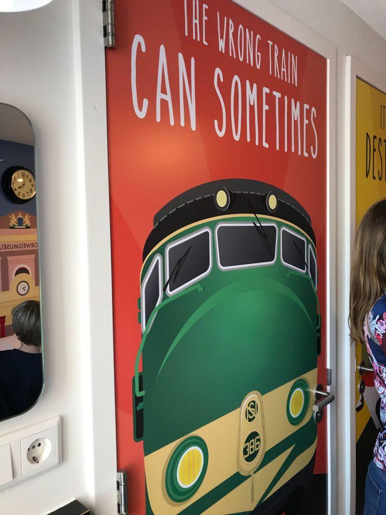 spoorwegmuseum kamer stayokay utrecht treinen