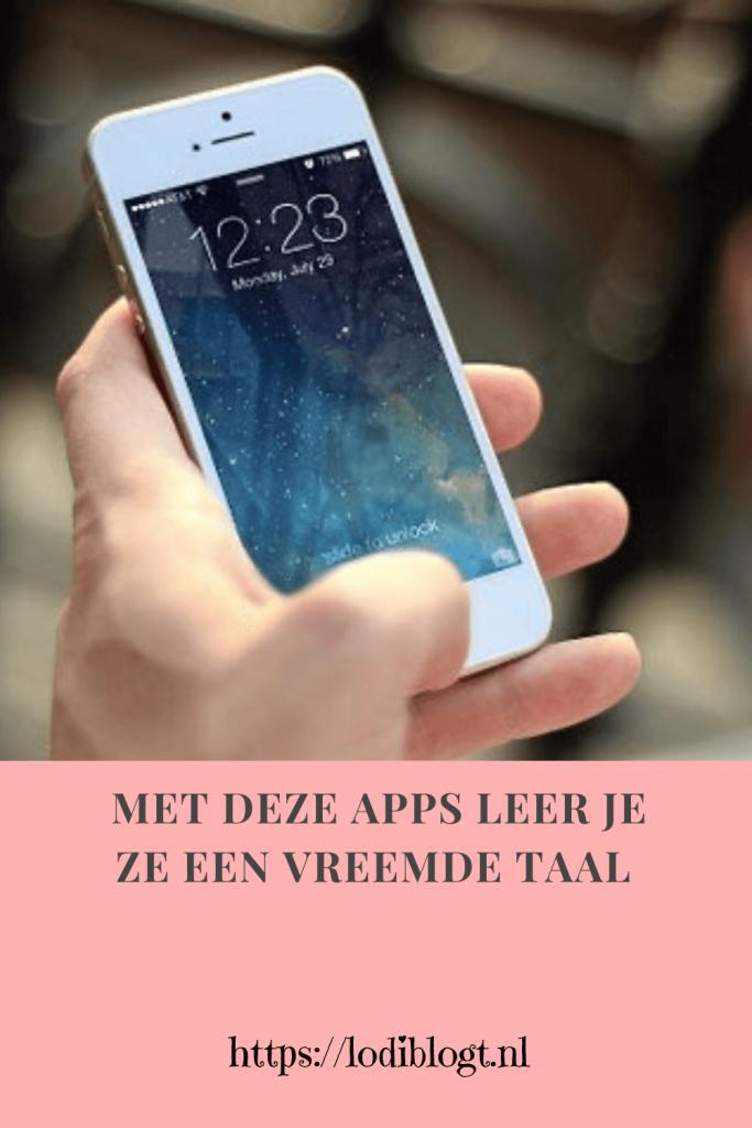 Met deze apps leer je zo een vreemde taal