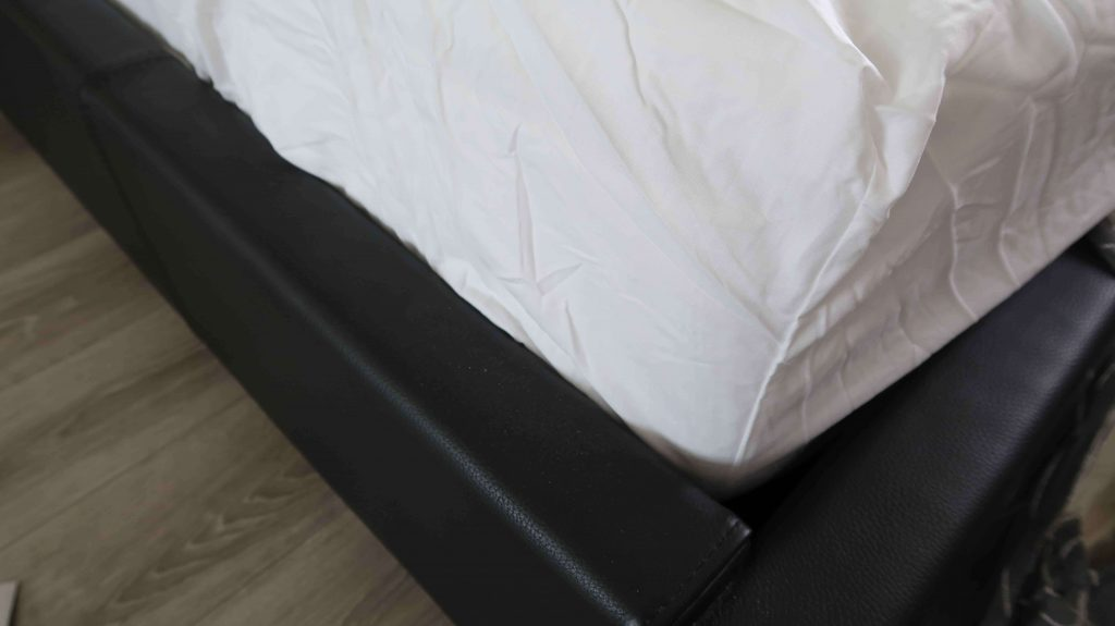 hoeslakens bed