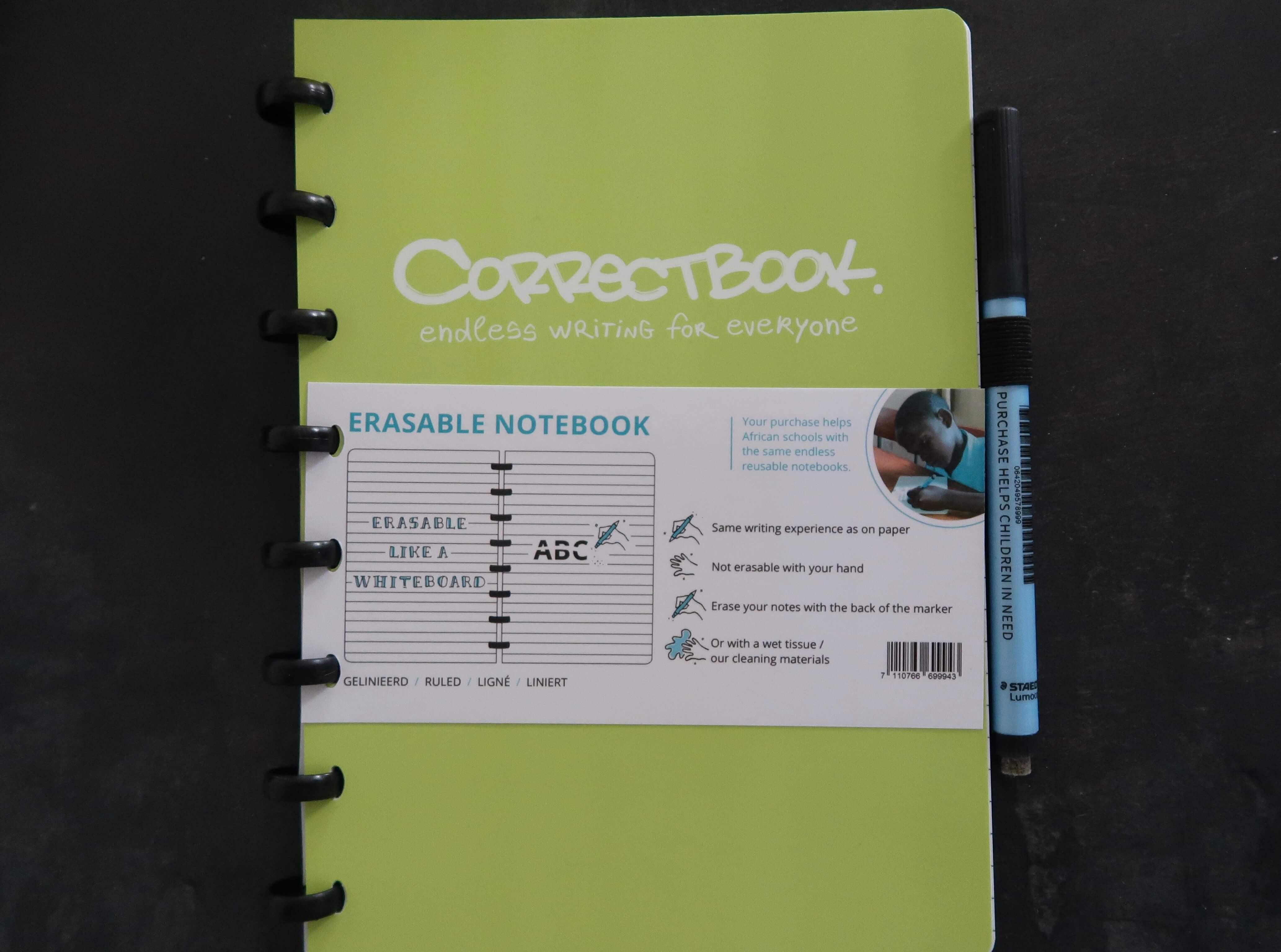 schrijven correctbook
