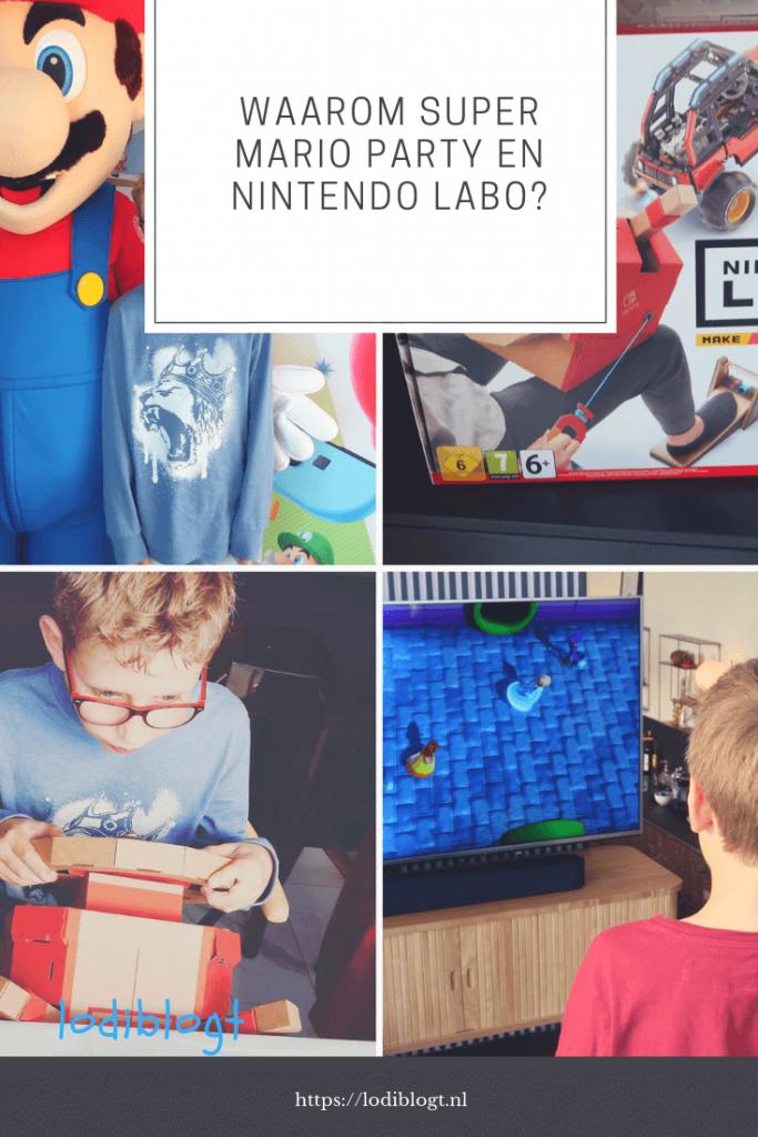 Waarom Super Mario Party en Nintendo Labo zo leuk zijn? #switch #games