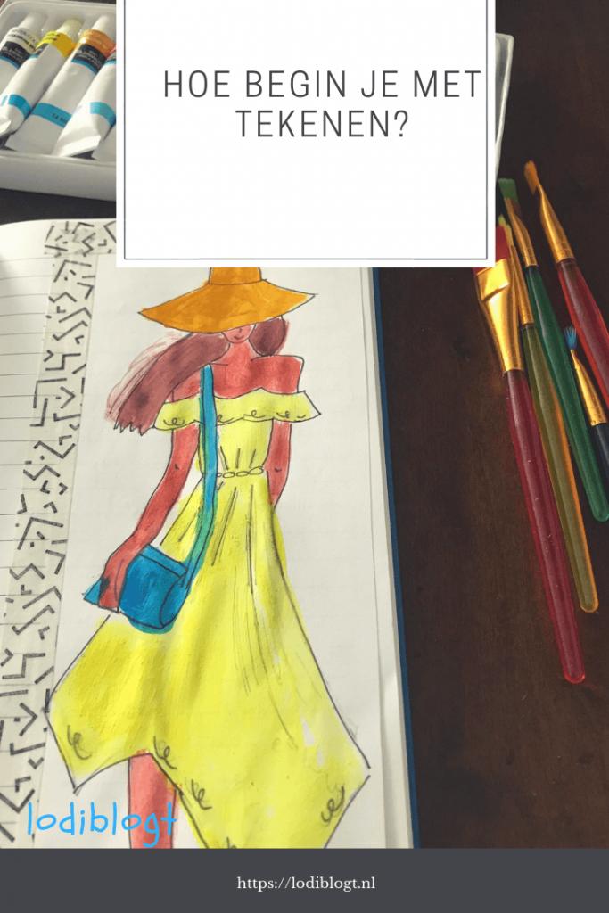 Hoe leer je tekenen? #instappen #bovenbouw #leren #doodles