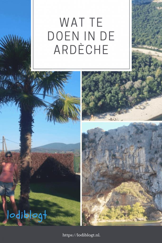 Wat te doen in de Ardèche? #vakantie #plannen