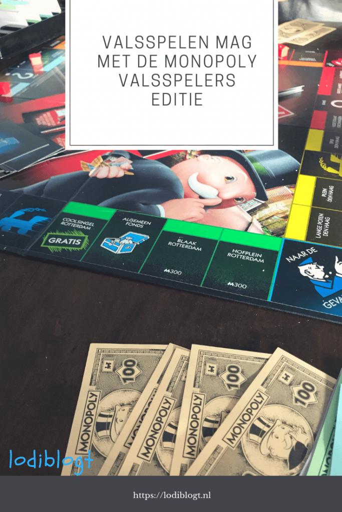 Valsspelen mag met de Monopoly Valsspelers Editie #kinderen #spelletjes
