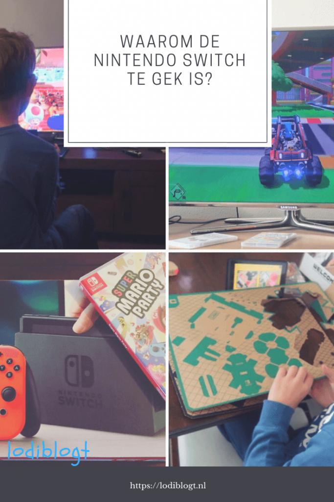 Waarom is de Nintendo Switch toch zo leuk en wat kan je er allemaal mee doen aan spelletjes?