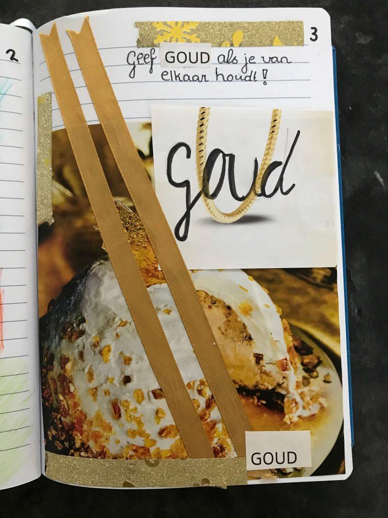 Bullet Journal Goud #creachickdecemberchallenge