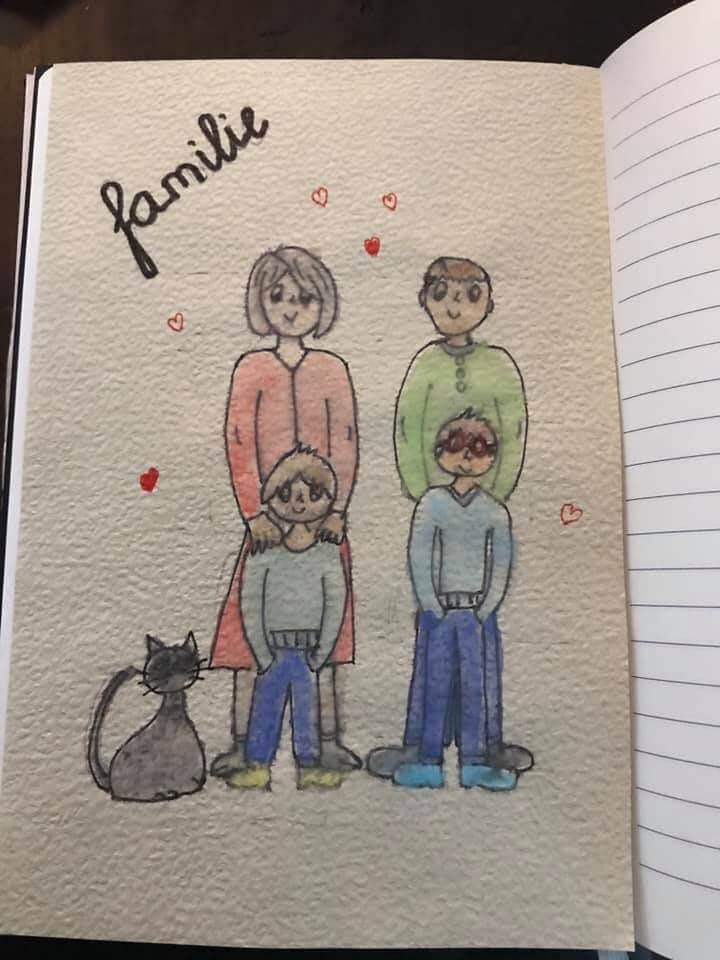 Bullet journal familie creachickdecemberchallenge