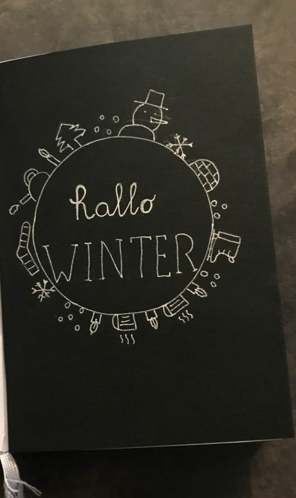 Bullet journal hallo winter creachickdecemberchallenge