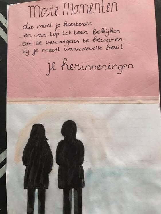 Bullet journal herinneringen creachickdecemberchallenge