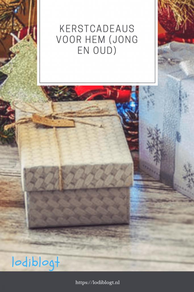 met welke kerstcadeaus voor hem zit je helemaal goed dit jaar?
