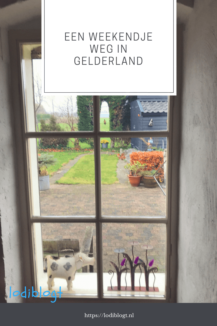 Een weekendje weg in Gelderland met wandel tips en B&B
