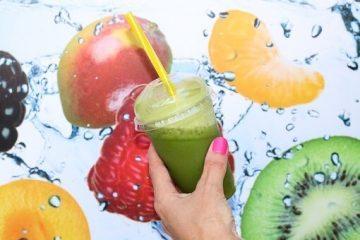 Gezond met een smoothie van mango en Marlene appels