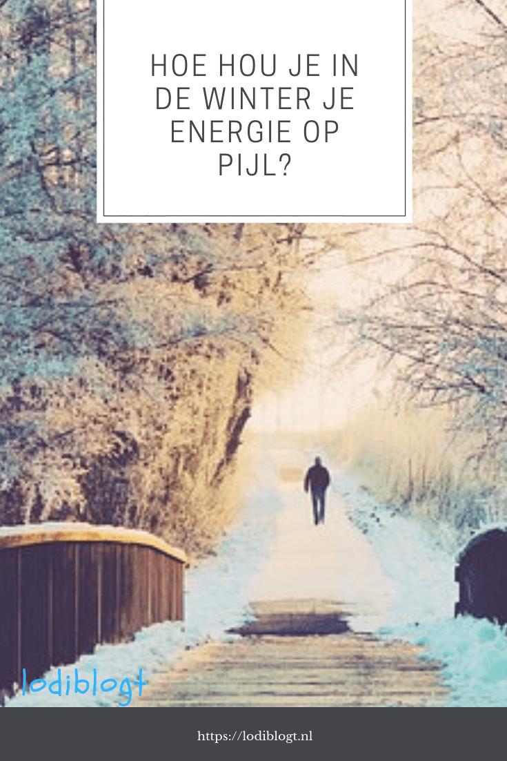 hoe hou je in de winter je energie op pijl? #tip