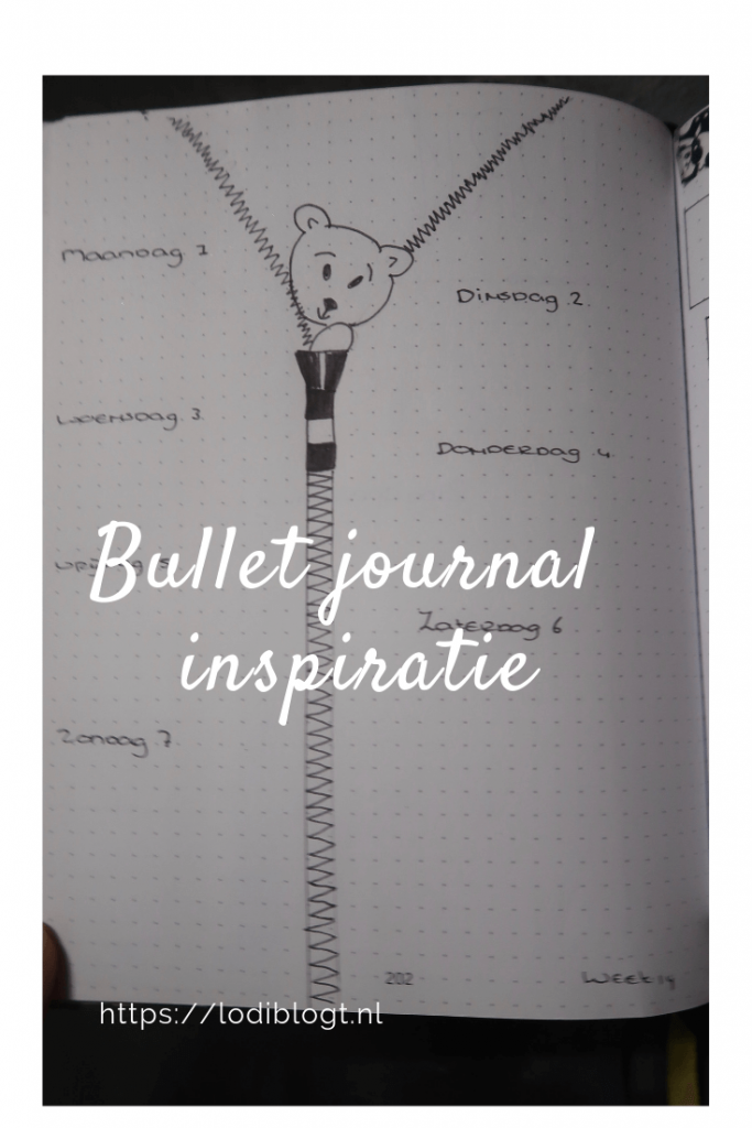 Bullet journal inspiratie #ideas #bujo #tips