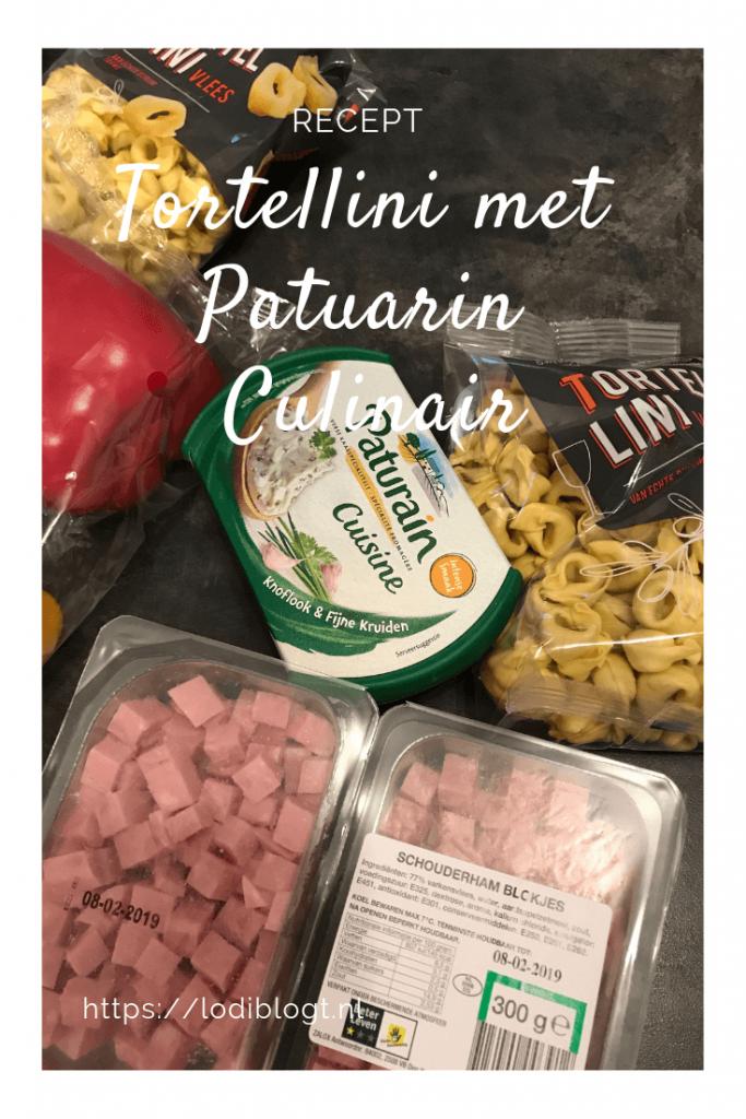 snel en makkelijk recept tortellini met Paturain Cuisine
