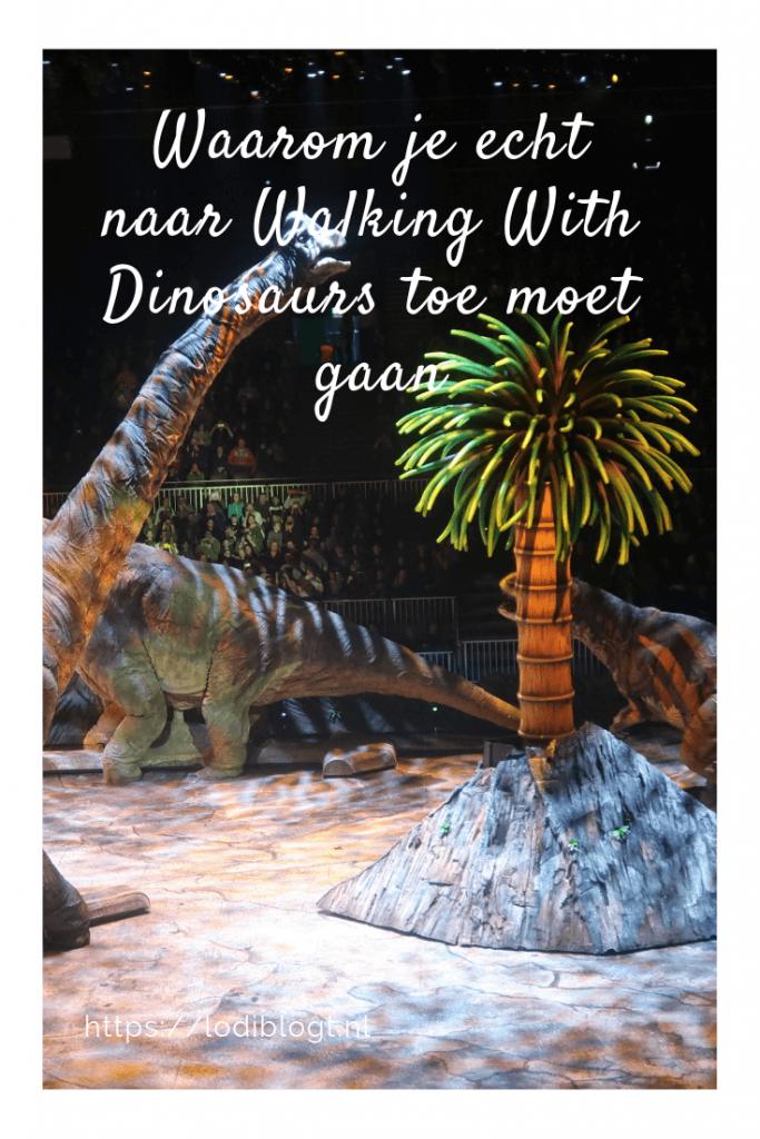 Waarom je echt naar Walking With Dinosaurs moet gaan #tip #ideas