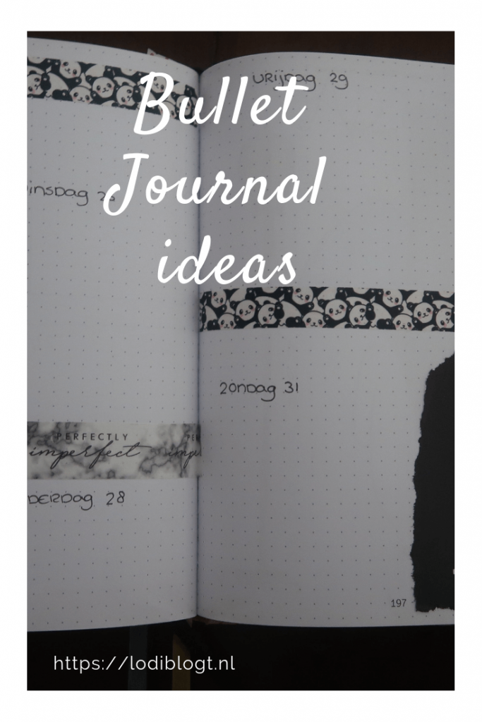 Bullet Journal #ideas #tips