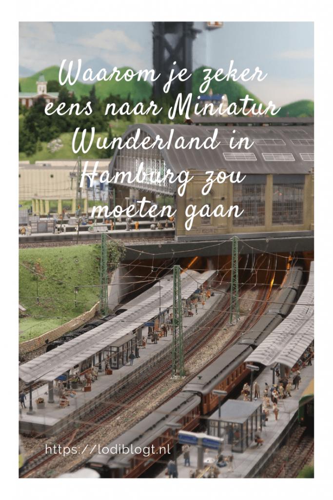 Waarom je zeker eens naar Miniatur Wunderland in Hamburg zou moeten gaan. #tips #ideas