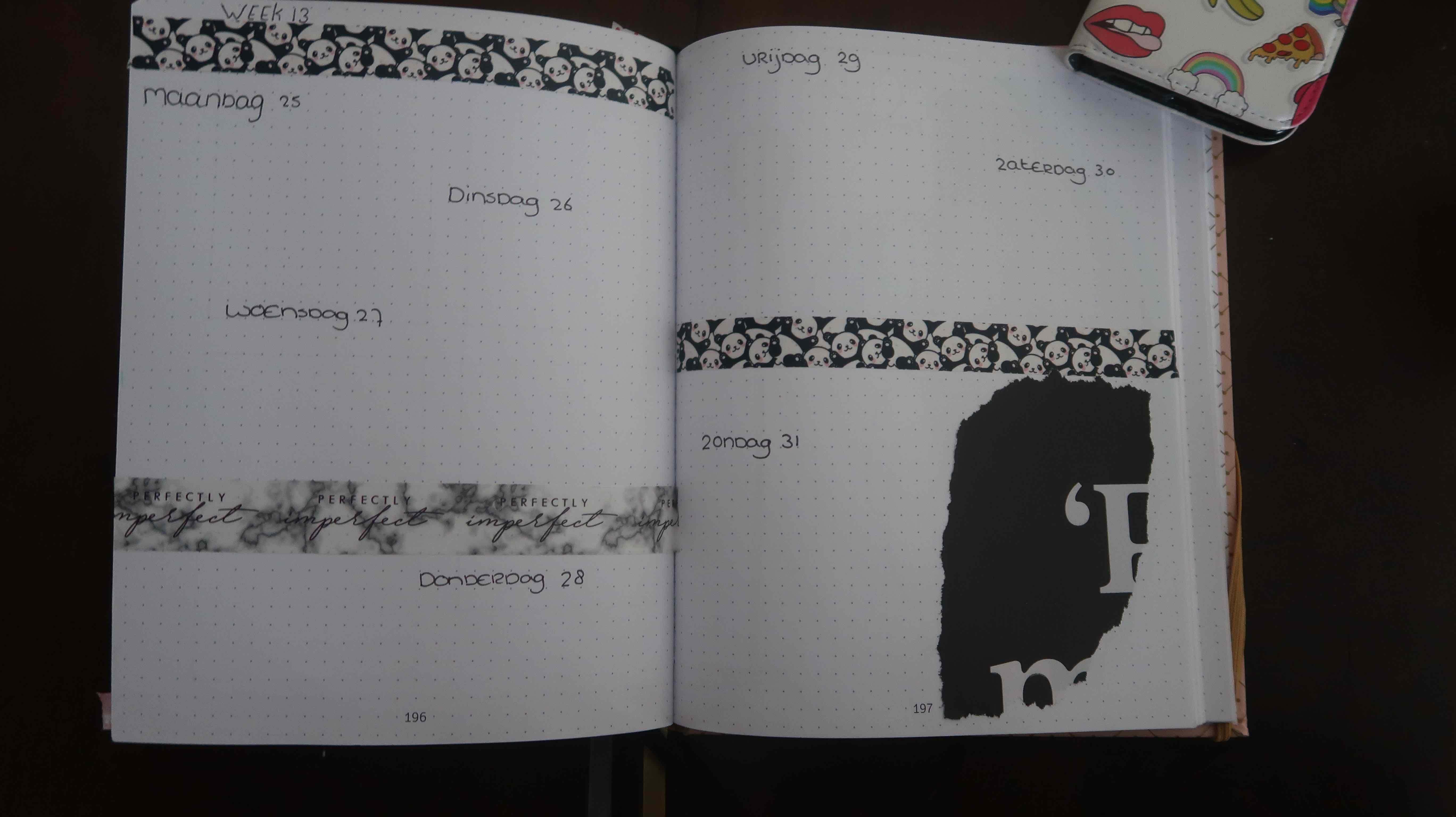 maart Bullet Journal