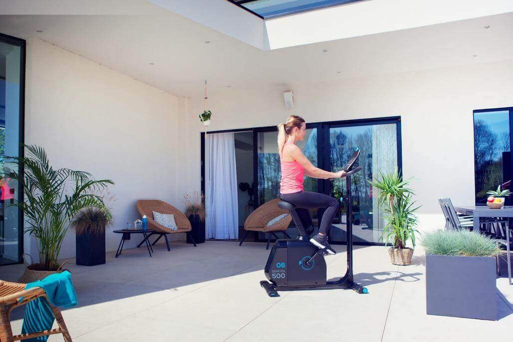 trainen draadloze hometrainer