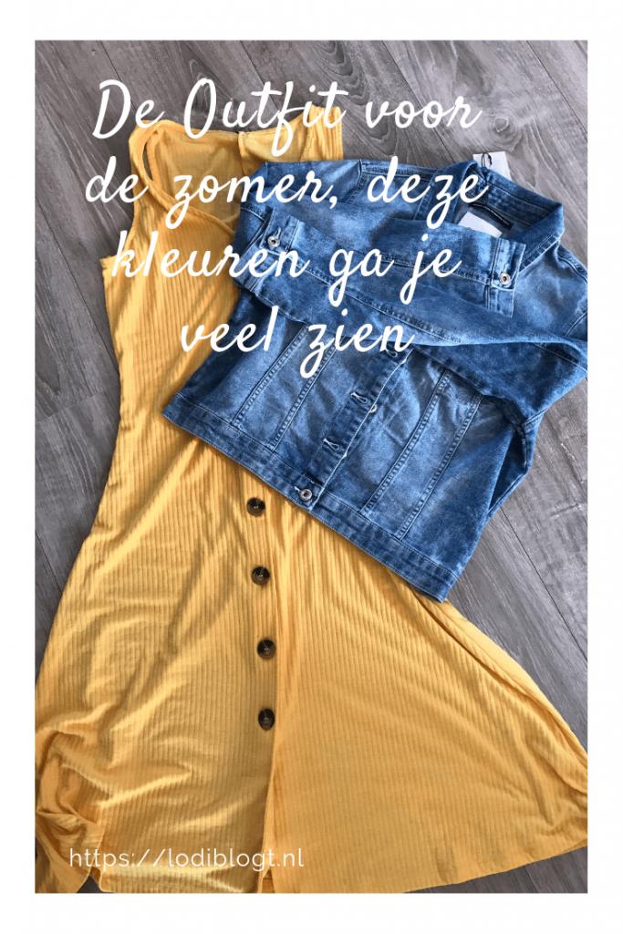 De Outfit voor de zomer, deze kleuren ga je veel zien #tips