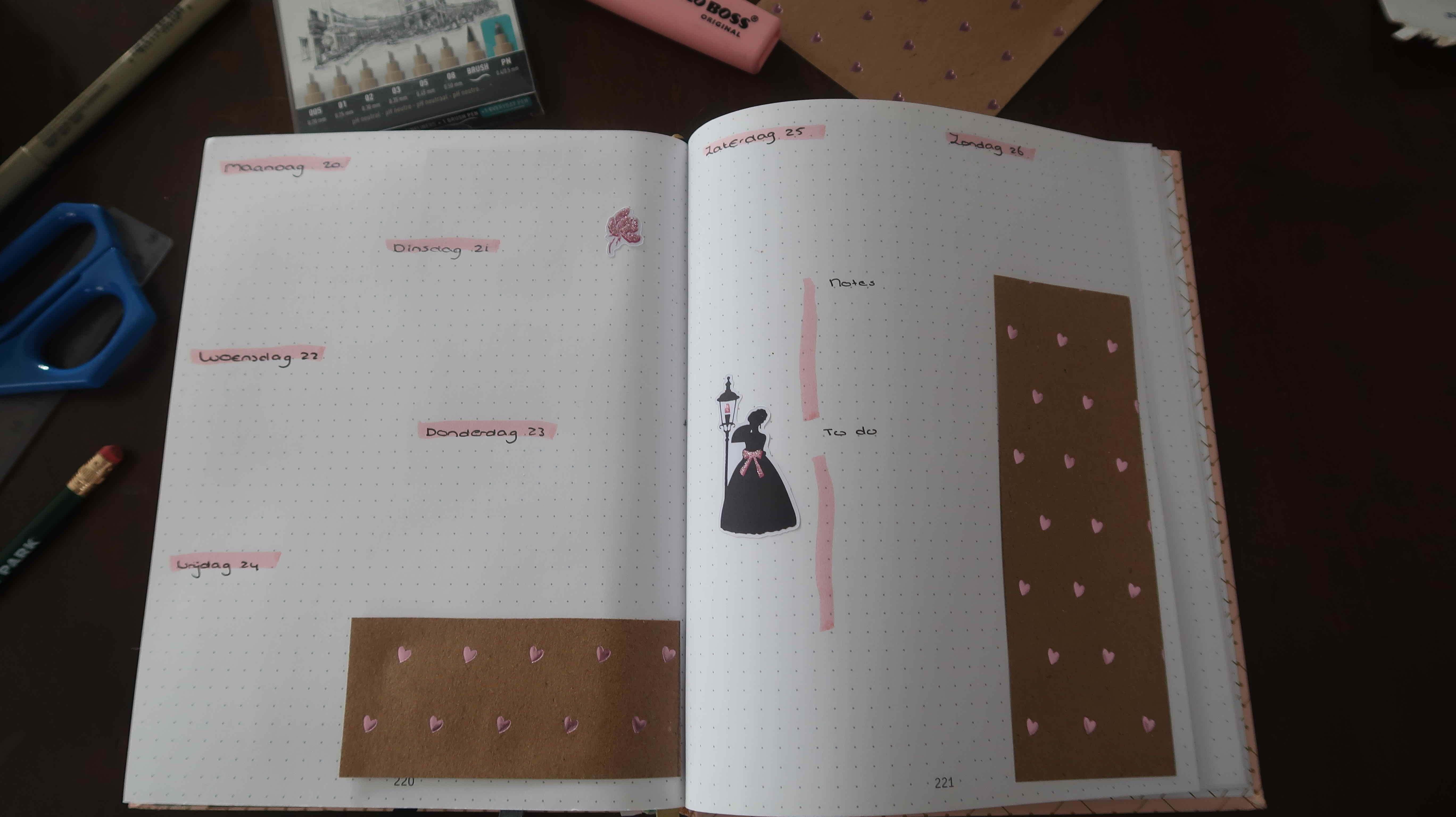 mei Bullet Journal
