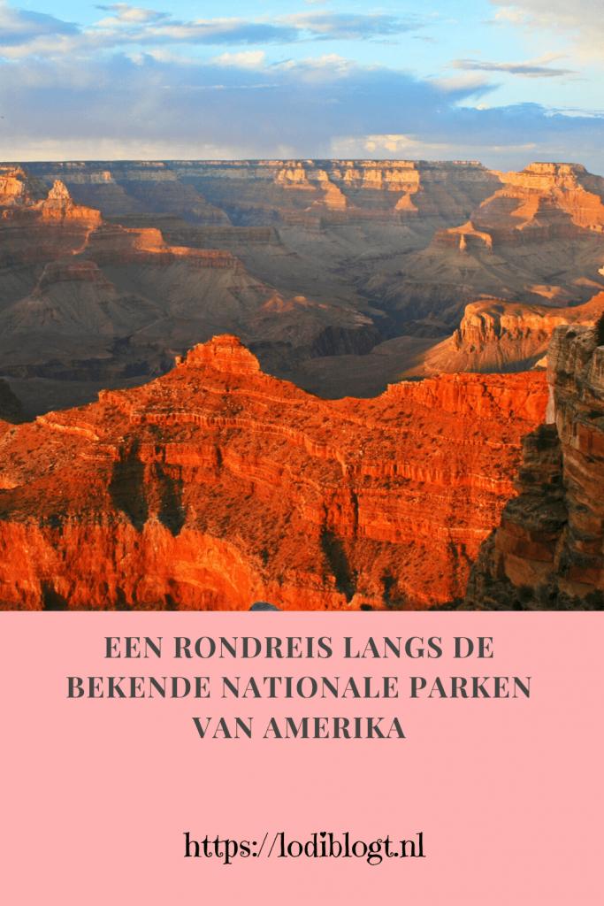 Een rondreis langs de bekende Nationale parken van Amerika