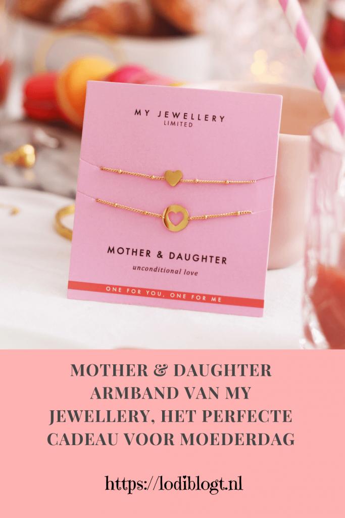 Mother & Daughter armband van My Jewellery, het perfecte cadeau voor moederdag