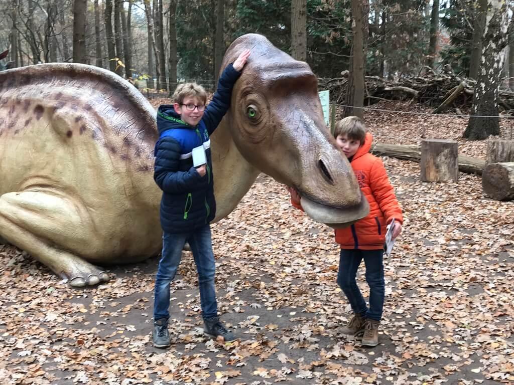 dinosaurus het oertijdmuseum