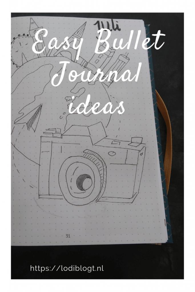 Easy bullet journal ideas #tips