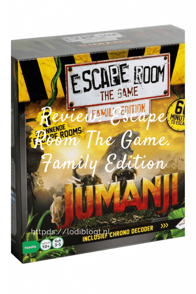 Review: Escape Room The Game. Family Edition