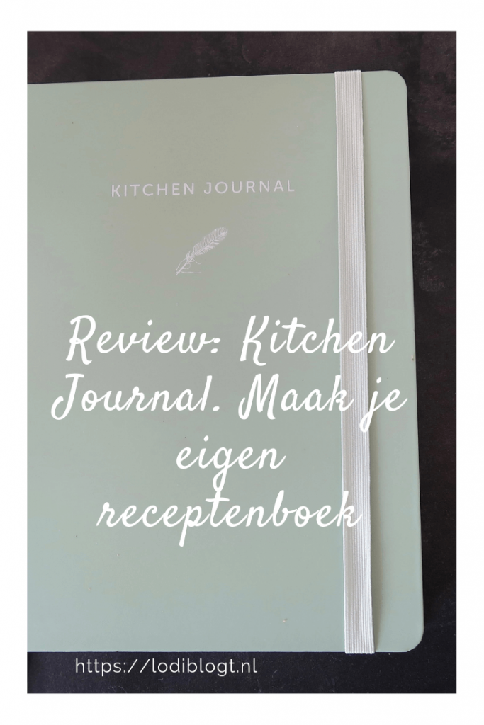 Review: Kitchen Journal. Maak je eigen receptenboek #ideas