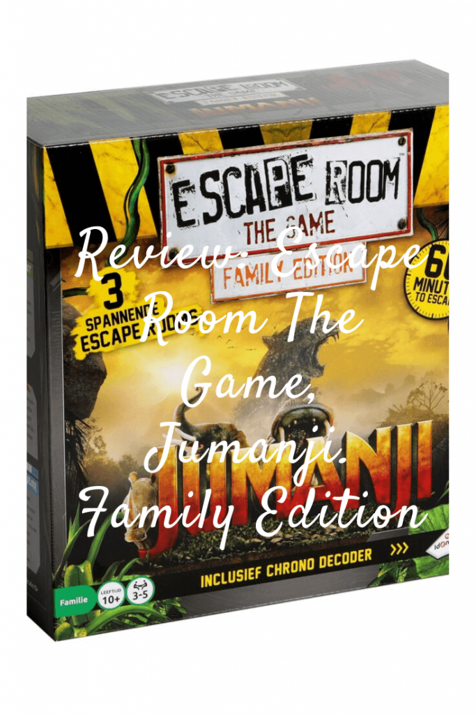 Review: Escape Room The Game, Jumanji. Family Edition #tips