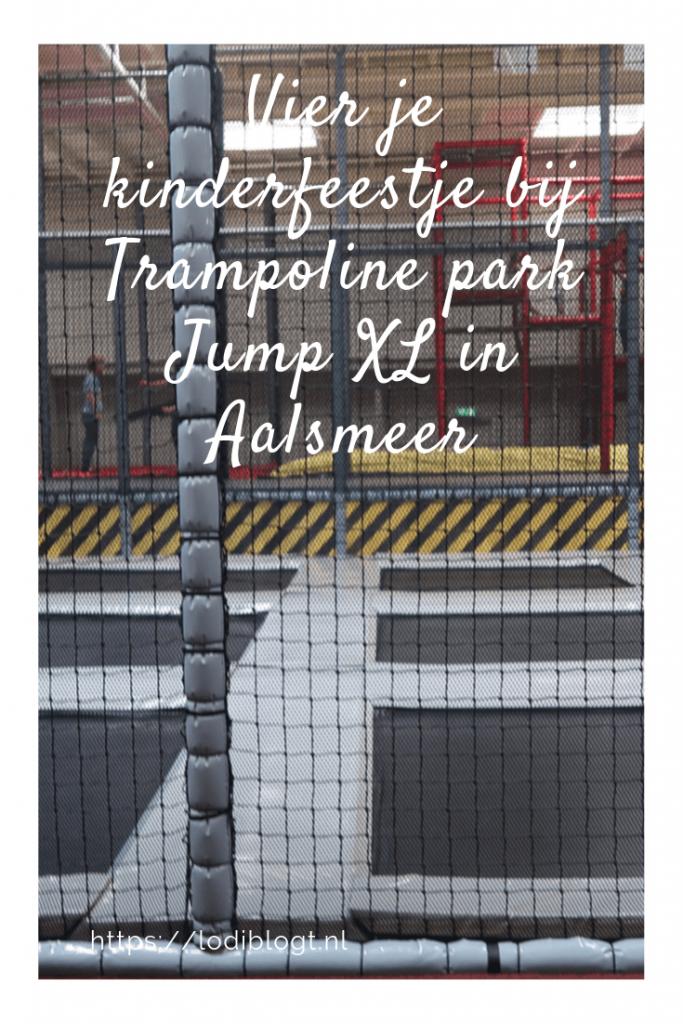 Vier je kinderfeestje bij Trampoline park Jump XL in Aalsmeer