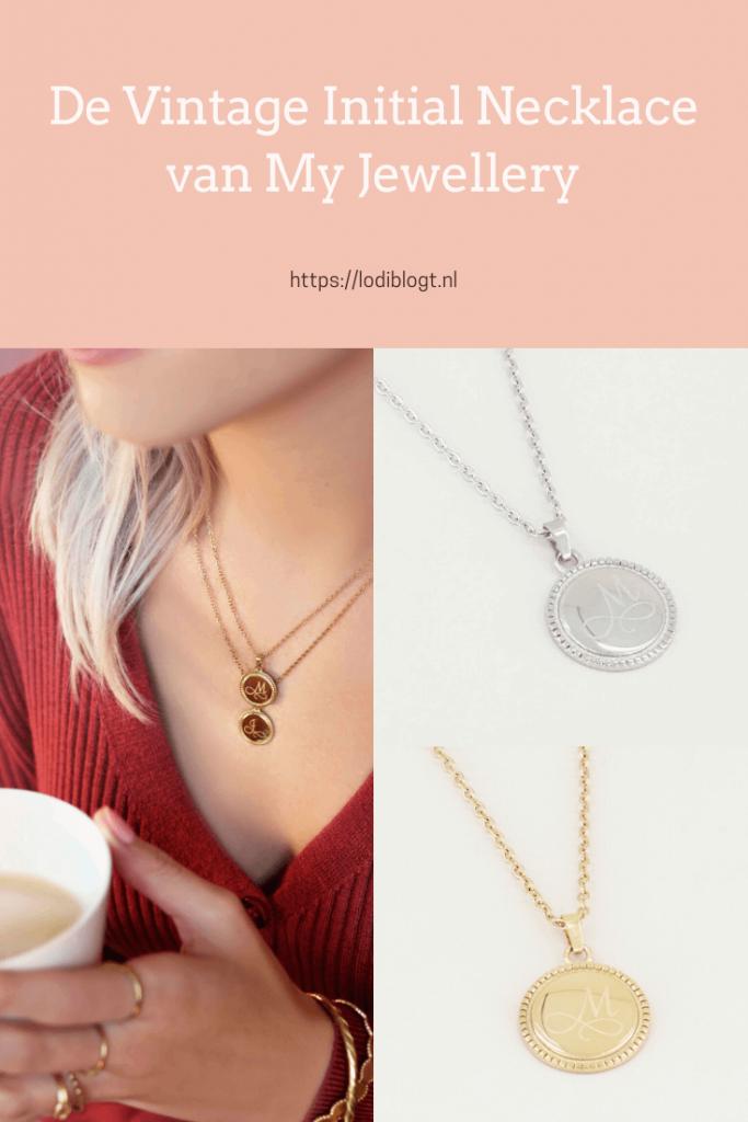 De Vintage Initial Necklace van My Jewellery #tips