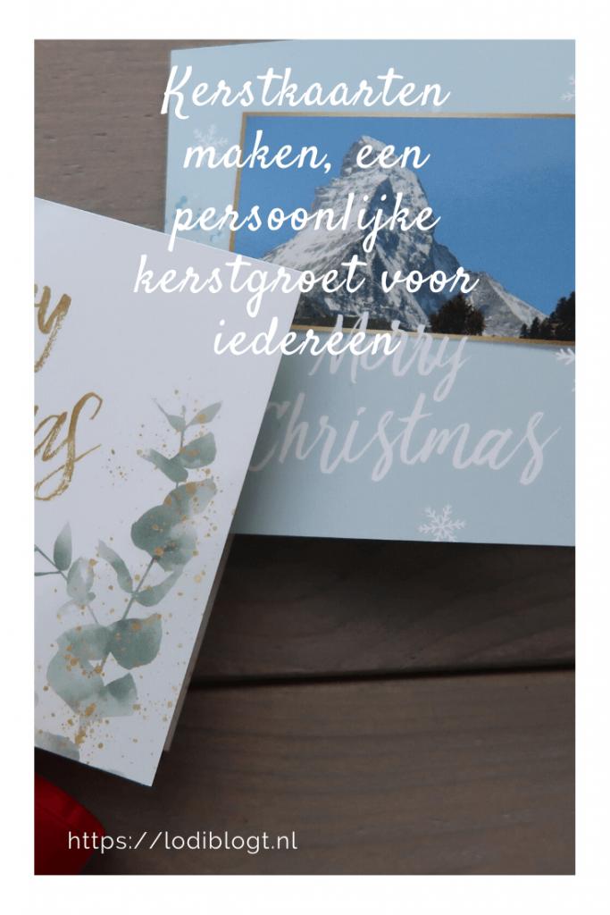 Kerstkaarten maken, een persoonlijke kerstgroet voor iedereen #tips