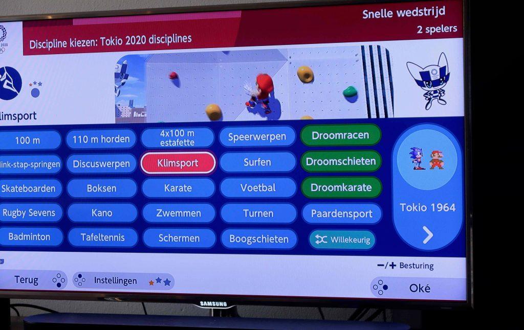 Mario & Sonic op de Olympische Spelen: Tokio 2020