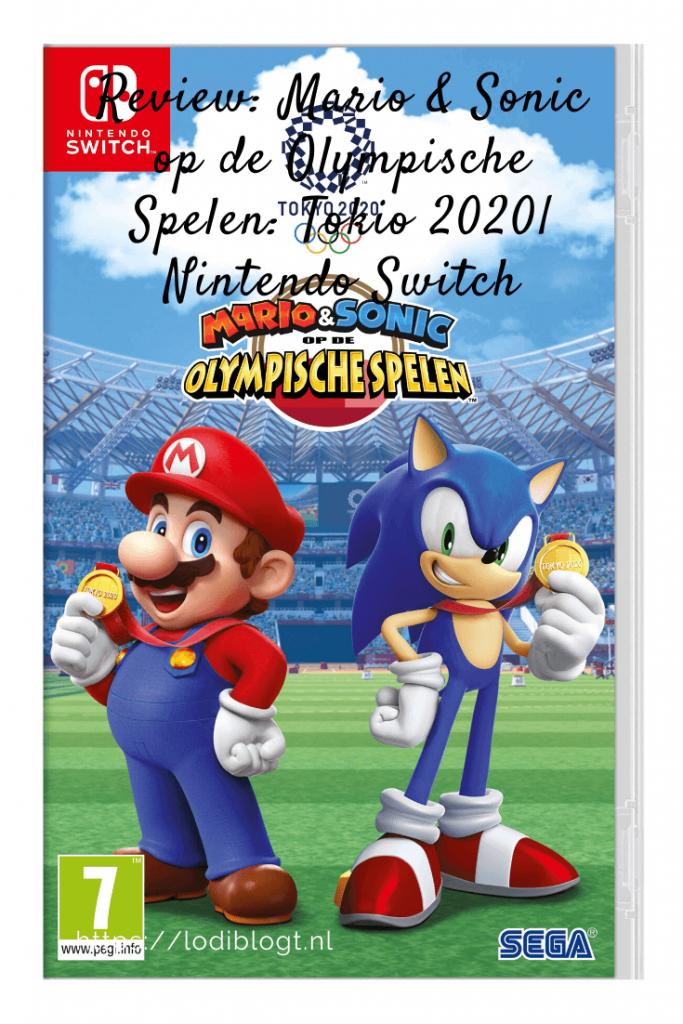 Review: Mario & Sonic op de Olympische Spelen: Tokio 2020| Nintendo Switch #tip