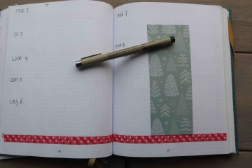 update december bullet journal