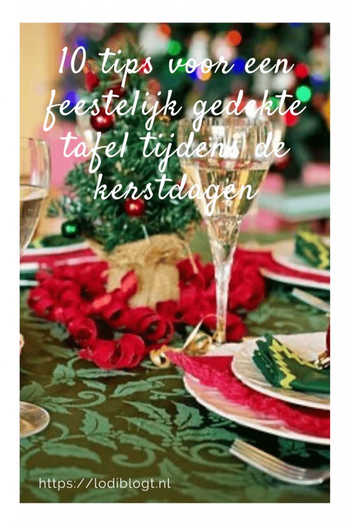 10 tips voor een feestelijk gedekte tafel tijdens de kerstdagen #tips