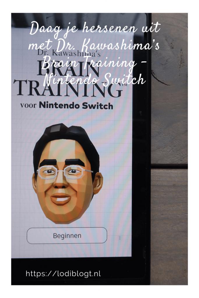 Daag je hersenen uit met Dr. Kawashima's Brain Training - Nintendo Switch #tip