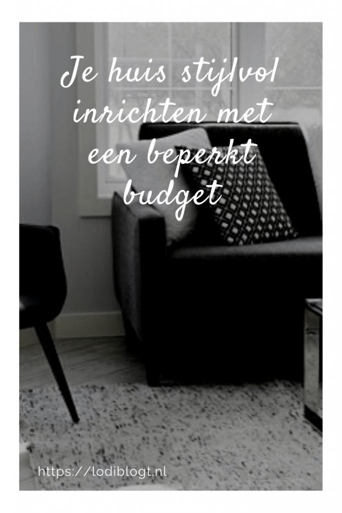 Je huis stijlvol inrichten met een beperkt budget #tips